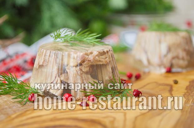 холодец из свинины рецепт с фото пошагово, как приготовить