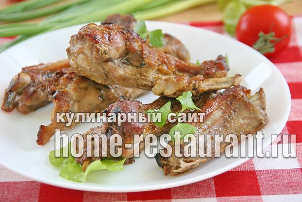 Ребрышки свиные в духовке простой рецепт _1