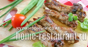 Ребрышки свиные в духовке простой рецепт _2