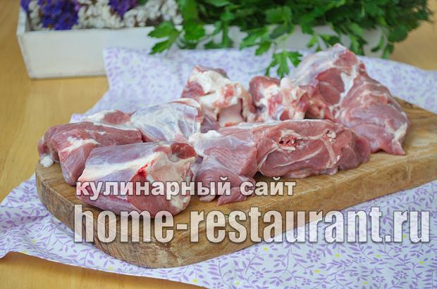 Шурпа из баранины рецепт с пошаговым