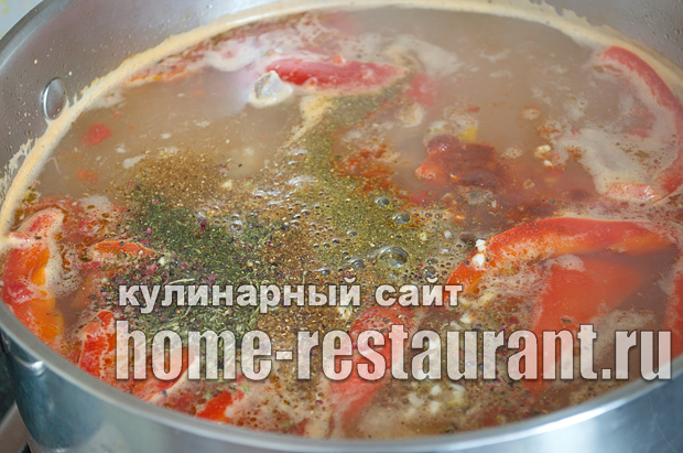 Шурпа из баранины рецепт с фото  _13
