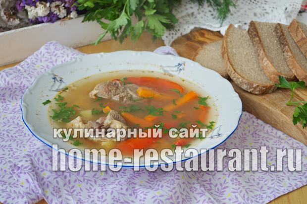 Шурпа из баранины рецепт с фото  _14