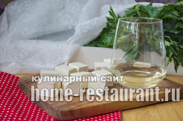 Суп пюре со шпинатом и плавленым сыром_05