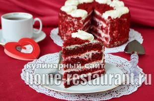 Торт Красный Бархат рецепт с фото пошагово_12