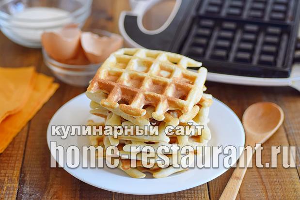 Венские вафли рецепт для электровафельницы  _10