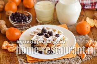 Венские вафли рецепт для электровафельницы  _11