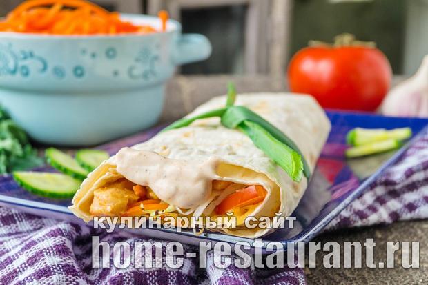 шаурма рецепт приготовления в домашних условиях с фото пошагово простые