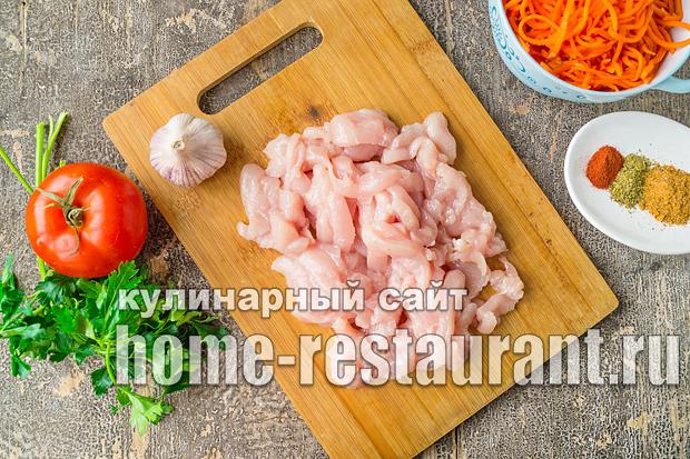 Шаурма с курицей копченой в домашних условиях рецепт с фото