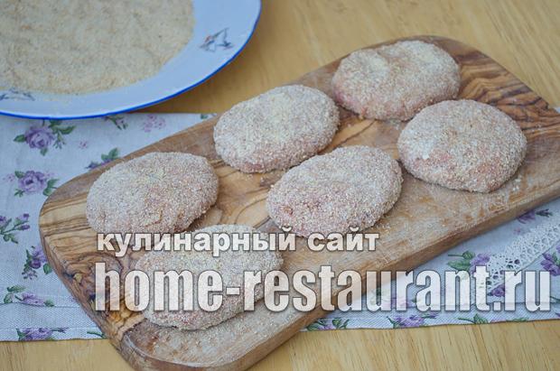 котлеты из говяжьего фарша рецепт с фото _07