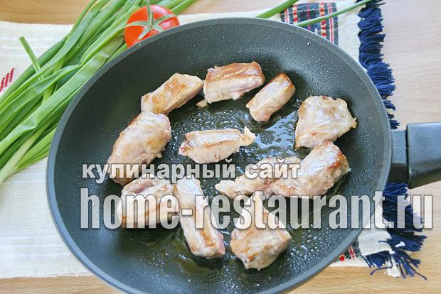 картошка в горшочке в духовке с мясом рецепт с фото