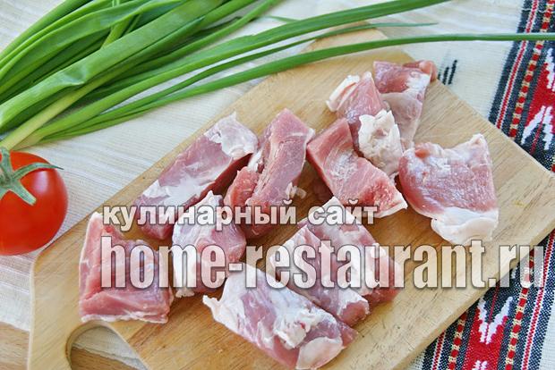 картофель с мясом в горшочке в духовке рецепт с фото