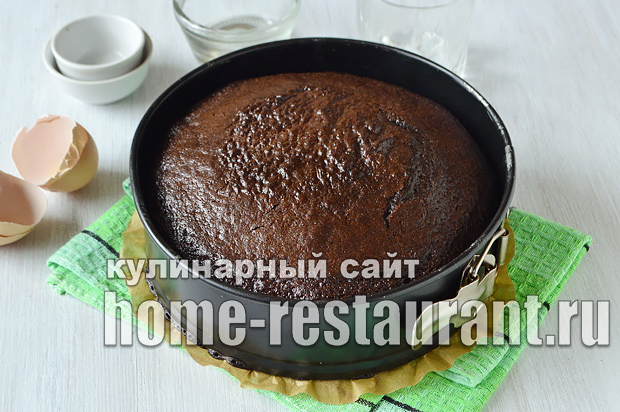 Шоколадный торт рецепт с фото пошагово  _05