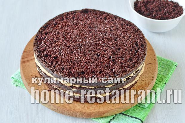 Шоколадный торт рецепт с фото пошагово  _08