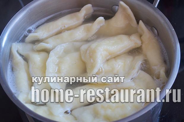 Вареники с творогом пошаговый рецепт с фото  _15