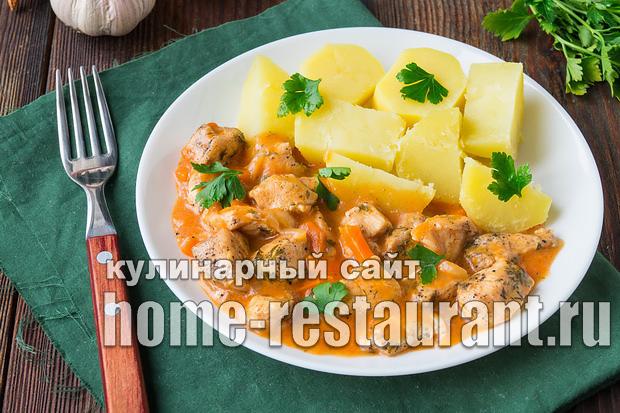 самый вкусный рецепт мяса с овощами #6