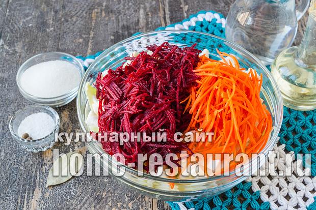 Рецепт капусты маринованной быстрого приготовления со