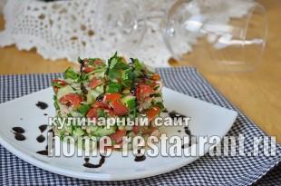 Салат из тунца консервированного рецепт классический _5