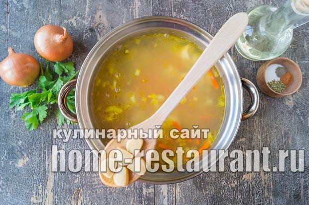 Как сделать крем суп из шампиньонов фото 884