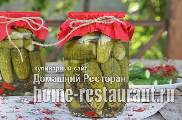 Заготовка огурцов на зиму рецепты