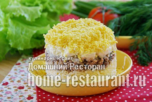 Салат мимоза классический рецепт с фото  _04