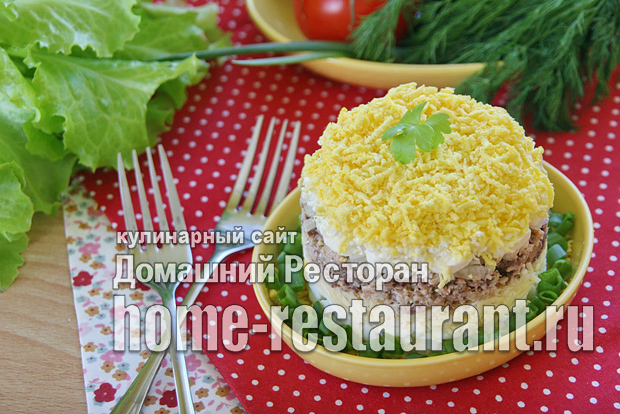 Салат мимоза классический рецепт с фото  _05