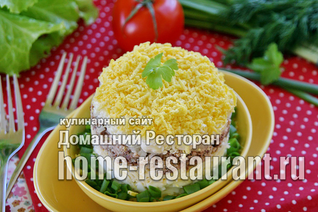 Салат мимоза классический рецепт с фото  _06