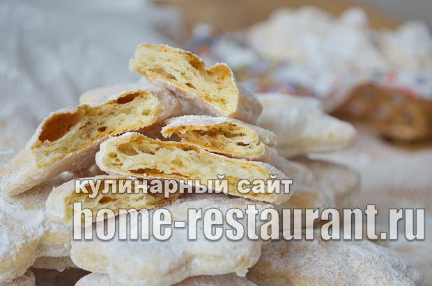 Слоеное печенье на сметане фото_15