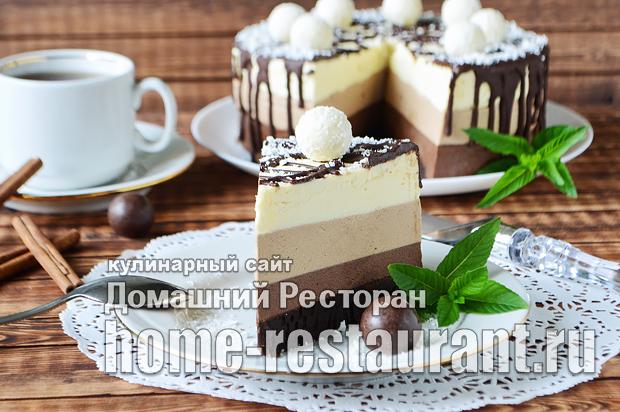 Торт Три Шоколада фото _20