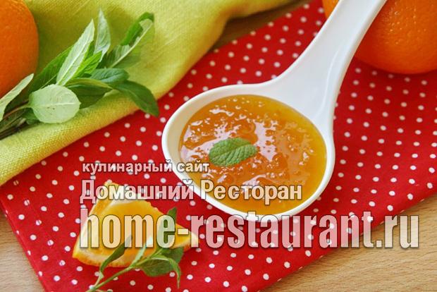 Апельсиновый джем фото_8