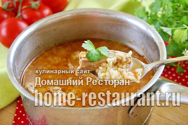 Суп харчо классический рецепт с фото _10