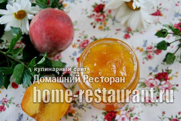 Персиковое варенье с Желфиксом фото_11