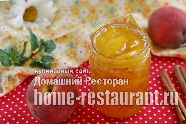 Варенье из персиков с корицей на сковороде фото_9