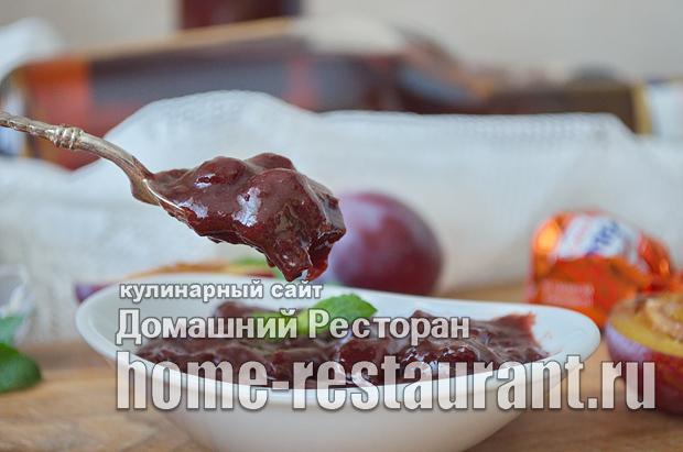 Варенье из слив с шоколадом и коньяком фото_12