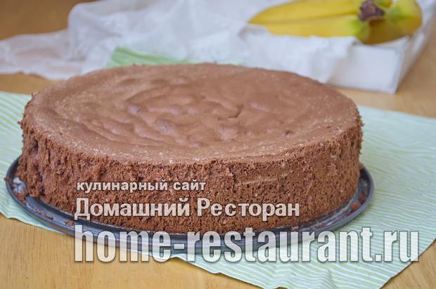 Шоколадный бисквит фото_12