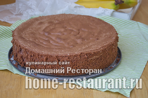Шоколадный бисквит фото_13