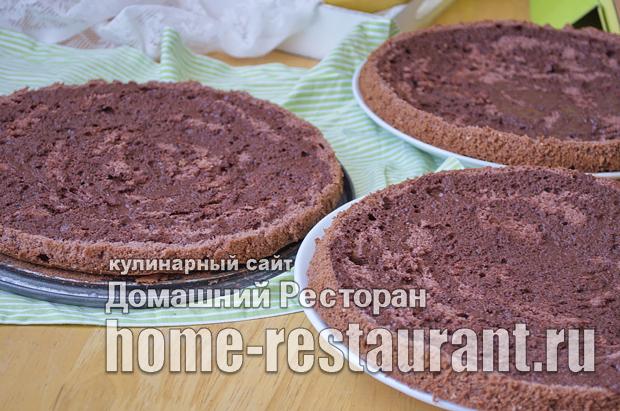 Шоколадный бисквит фото_14