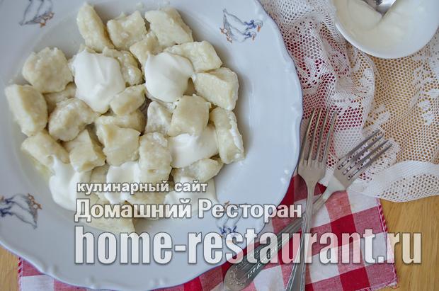 Ленивые вареники с картошкой фото_15
