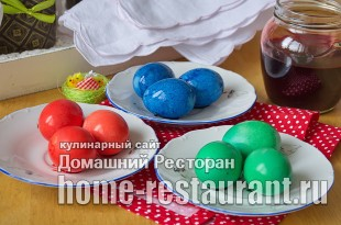 Как красить яйца пищевыми красителями фото_8