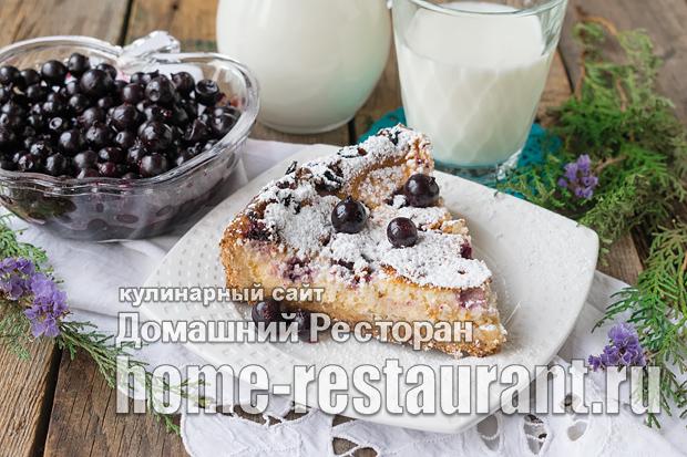 Пирог с замороженной смородиной фото, фото рецепт Пирога с замороженной смородиной