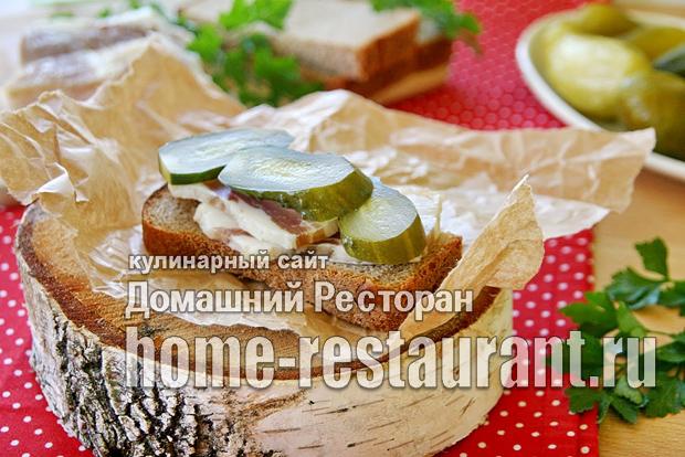 Малосольные огурцы с хлебом фото_02
