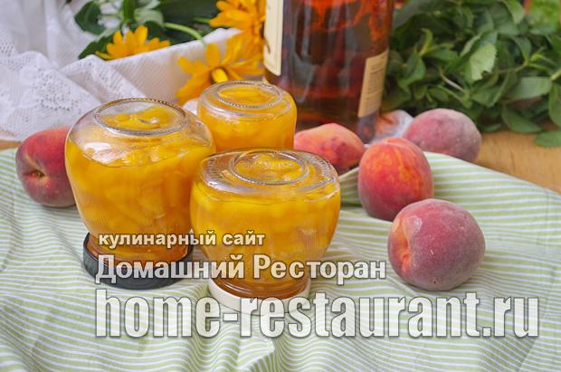 Варенье из персиков с ромом и ванилью фото_10