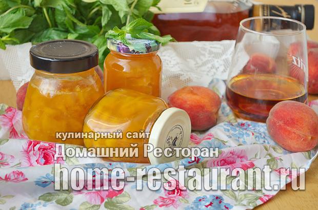 Варенье из персиков с ромом и ванилью фото_11