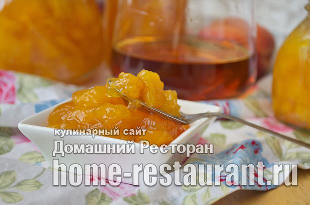 Варенье из персиков с ромом и ванилью фото_12