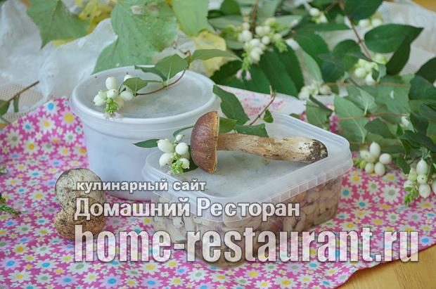 Как заморозить белые грибы фото_11