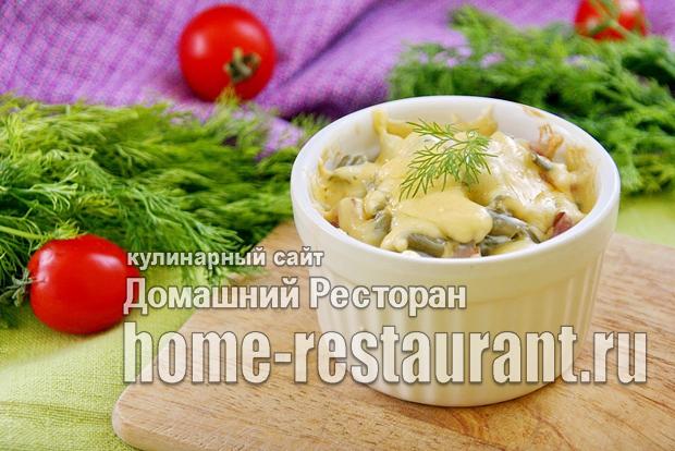 Стручковая фасоль в духовке рецепт с фото_02