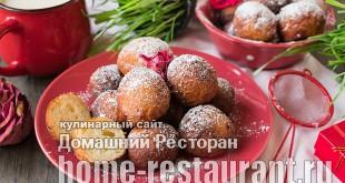Творожные пончики фото_06