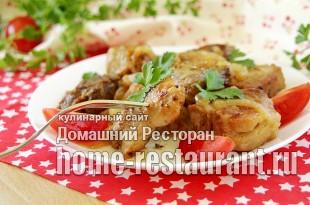 Шашлык на сковороде из свинины фото_9