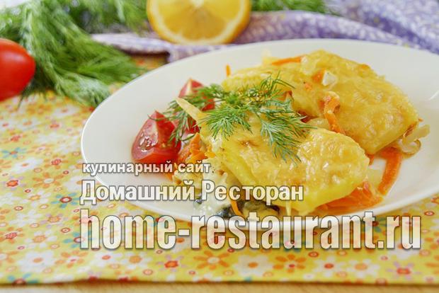 Рыбная запеканка в духовке фото _05