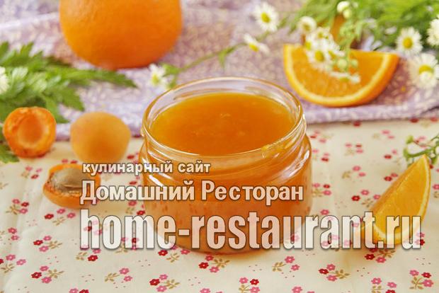 Абрикосовый джем с апельсином фото_03
