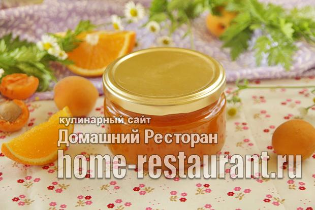 Абрикосовый джем с апельсином фото_11